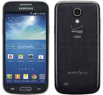 New Samsung Galaxy S4 Mini i435 Verizon Wireless 16GB Android Smartphone Black
