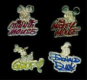 Disney Cast Lanyard Pin Sets