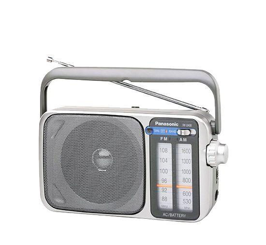 Panasonic Portable Am/fm 2 Band Receiver Analogue Led Tun...
