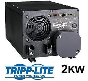 NEW TRIPP LITE APS POWER INVERTER - 105900105 - DC/AC Inverter, Charger, 1 Output, 12 VDC, 2 kW, 230 VAC Power Line P...