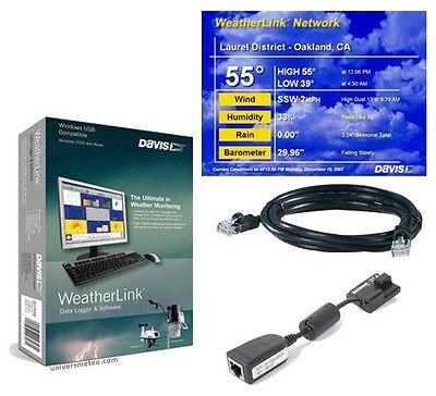 Davis 6555 WeatherLinkIP for Vantage Pro2 6152 6162 Weather Station Link IP