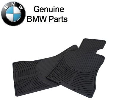 For BMW F10 F11 Front Floor Mat All Weather Rubber Black Genuine 51 47 2 153 725