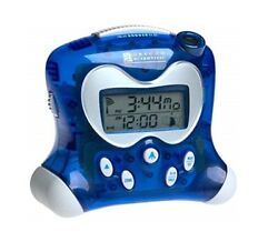 RM313PNFA Translucent Blue Oregon Scientific Projection Clock Indoor Thermometer
