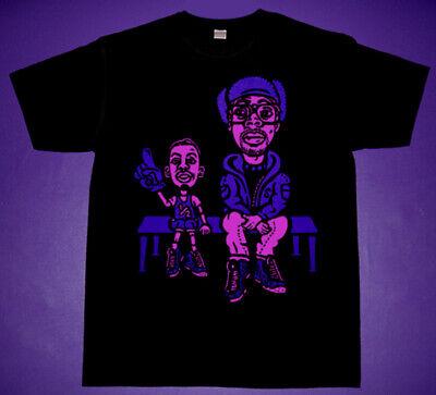 New cajmear Black Purple Hot Pink Spike Lil Penny Hardaway basketball one shirt