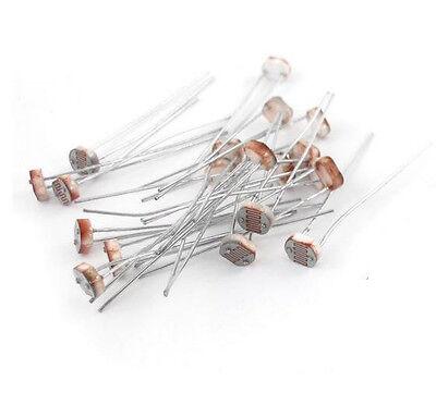 20pcs Photo Light Sensitive Resistor Photoresistor Gl5516 Ca