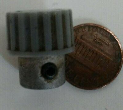 Gray Knob From Vintage Tektronix Oscilliscope For 0.18 Shaft