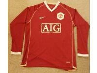 Manchester United long sleeved shirt 2006/2007