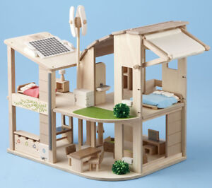 Plan Toys Eco Dollhouse New in Box
