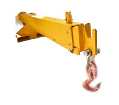 Mobile Crane Forklift Extension With Truss Hoist Jib Boom Hook 3t Industry Us