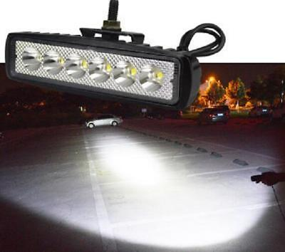 12V 30W LED Spot Light Motorcycle Scooter Moped Off Road Waterproof Headlight