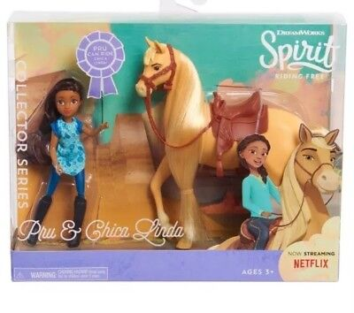 ✨ Dreamworks Spirit Riding Free Pru and Chica Linda Horse & Doll Play Set NEW ✨ for sale  Marion Junction