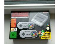 SNES Super Nintendo Entertainment System Classic mini New Boxed