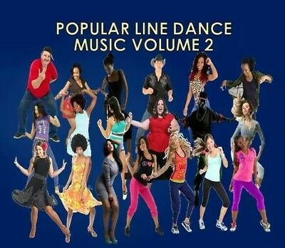 LINE DANCE R&B MUSIC CD》Wobble》Booty Call》Madison》Blurred Lines》Fine》Happy》Stomp Fine Line Music