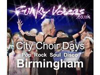 Love singing? Join Funky City Choir Days Community Choir for the day! in Birmingham