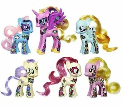 "My Little Pony Friendship is Magic Friendship Blossom Collection 3"" Figures NIB"