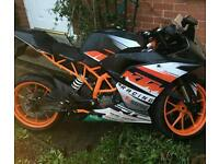Ktm rc125 rc 125 still under warranty HPI Clear