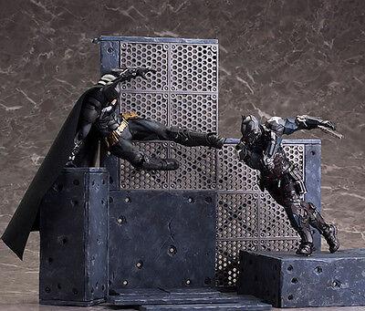 SET of 2: Kotobukiya DC Comics BATMAN vs. ARKHAM KNIGHT ARTFX+ Statues - New