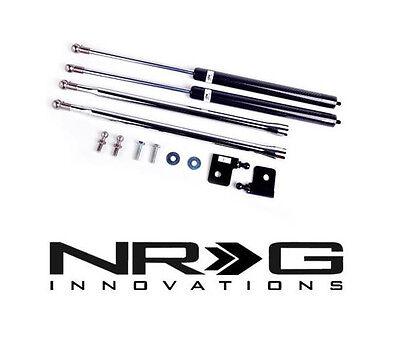 NRG Hood / Bonnet Damper Kit Honda S2000 00-09 AP1 & AP2 (Carbon Fiber / CF) - Nrg Hood Damper Kit