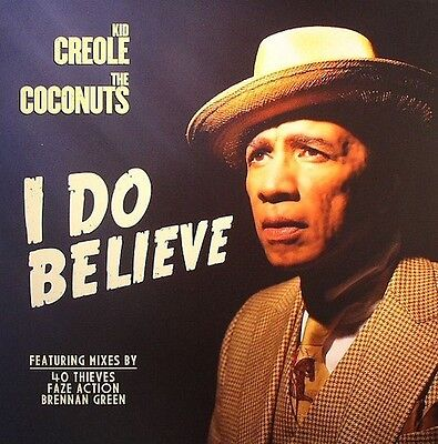 Creole Houses - Kid Creole & The Coconuts* ‎– I Do Believe SEALED Strut ‎12