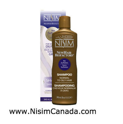 Nisim Normal to Oily Shampoo 8oz - REGROW HAIR ! for sale  Shipping to India