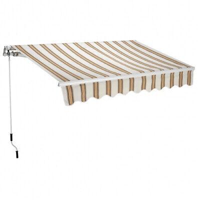 Tenda da Sole Bracci Retrattili 250x200cm Righe T1372011/C