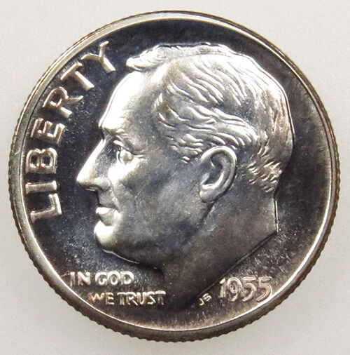 1946-1964 Roosevelt Silver Dimes Us Coin 90% Silver Lot Of 10 Ten Coins Easy And Simple To Handle Coins: Us Coins & Paper Money