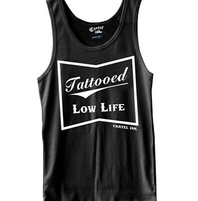 Tattooed Low Life Tank Top by Cartel Ink