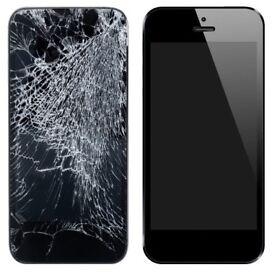 repairing phone screen