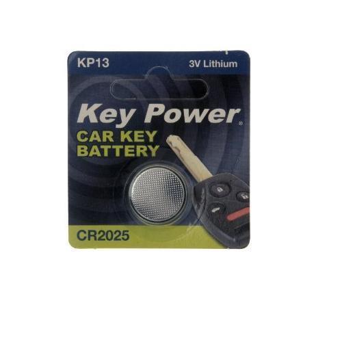 New Key Power 2025 Car Key Cell Battery 3V Lithium