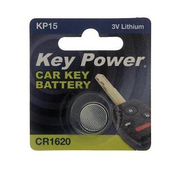 New Key Power 1620 Car Key Cell Battery 3V Lithium