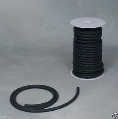 50ft. BLACK RUBBER SURGICAL LATEX TUBING 1/4