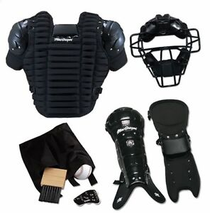 Macgregor Umpire Pack Complete Equipment Gear Mask Chest Protector Leg Guard