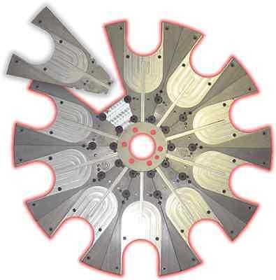 Haas Carousel Plate Cat4010 Will Not Break - Mini Mill  Parts Disk