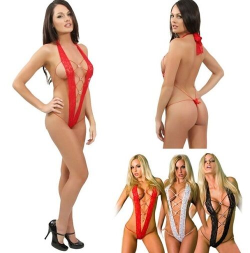 Sexy Exotic Dancer Stripper Dancewear  - Black Red White - HOT