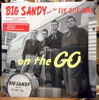 BIG SANDY AND THE FLY-RITE TRIO On The Go LP NEW SEALED (Big Sandy And The Fly Rite Trio)