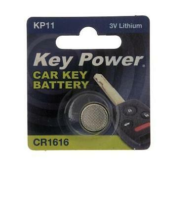 New Key Power 1616 Car Key Cell Battery 3V Lithium