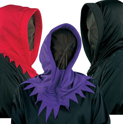 Deluxe Hidden Invisible Face Ghoul Ghost Shadow Man Purple Hood Mask](Invisible Ghoul Mask)
