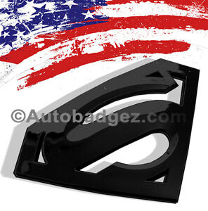 superman car emblem ebay. Black Bedroom Furniture Sets. Home Design Ideas