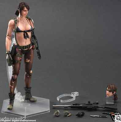 New Play Arts Kai Metal Gear Solid V Phantom Pain Quiet PVC Figure Statue Model  for sale  Shipping to Canada