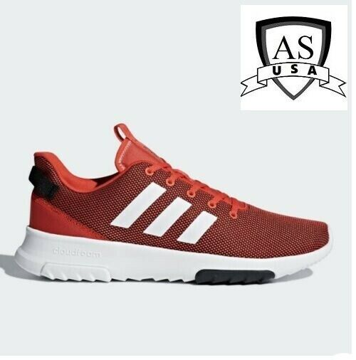 Adidas Men's Cf Racer Tr Red Running Shoes DB0708 Scarlet/ white/Core red Sizes