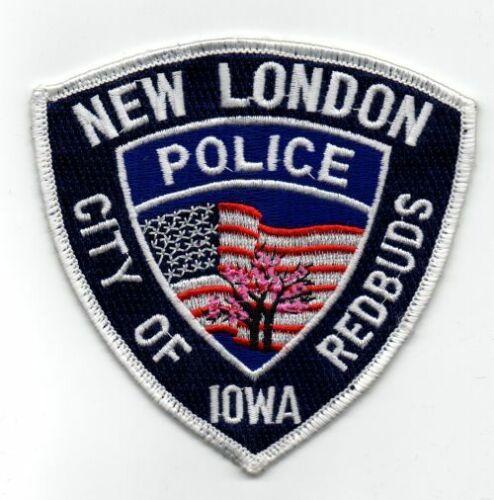 IOWA IA NEW LONDON POLICE NICE PATCH SHERIFF