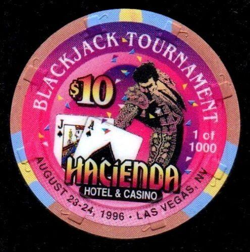 $10 Las Vegas Hacienda Casino Chip - UNCIRCULATED