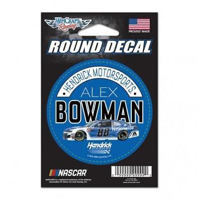 Alex Bowman  88 3  Nationwide Round Decal 2018 Free Shipping Instock