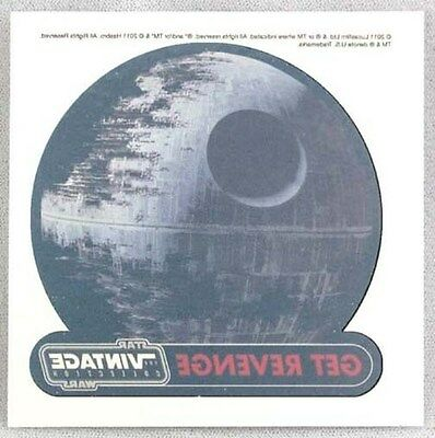 SDCC Promo Star Wars Death Star Get Revenge Temporary Tattoo Costume Cosplay New (Death Star Costume)