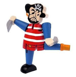 Wooden-PIRATE-Fidget-Puzzle-Travel-Stress-Relief-Occupational-Therapy