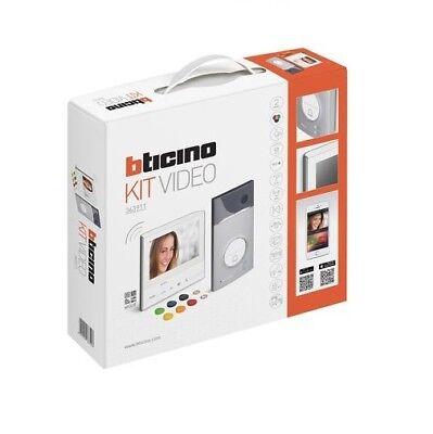 Gebruikt, BTICINO 363911 -KIT VIDEOCITOFONICO BTICINO MONOFAMILIARE CLASSE 300 X13E Wi-Fi tweedehands  verschepen naar Netherlands