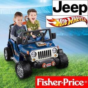 NEW FISHER PRICE JEEP RIDEON TOY CBG61 138978838 HOT WHEELS POWER WHEELS WRANGLER 12V