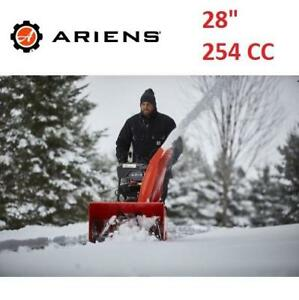 "NEW ARIENS TWO STAGE SNOW BLOWER 921046 230514745 28"" 254CC SNOW THROWER SNOWBLOWER"