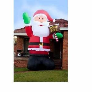 5 METER GIANT SANTA BLOW UP Minchinbury Blacktown Area Preview