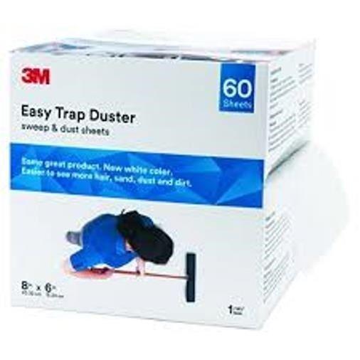 "Crapping Looking Floors?  3M 85919 EasyTrap Dust Mop Cloth Refills, 8"" x 125"